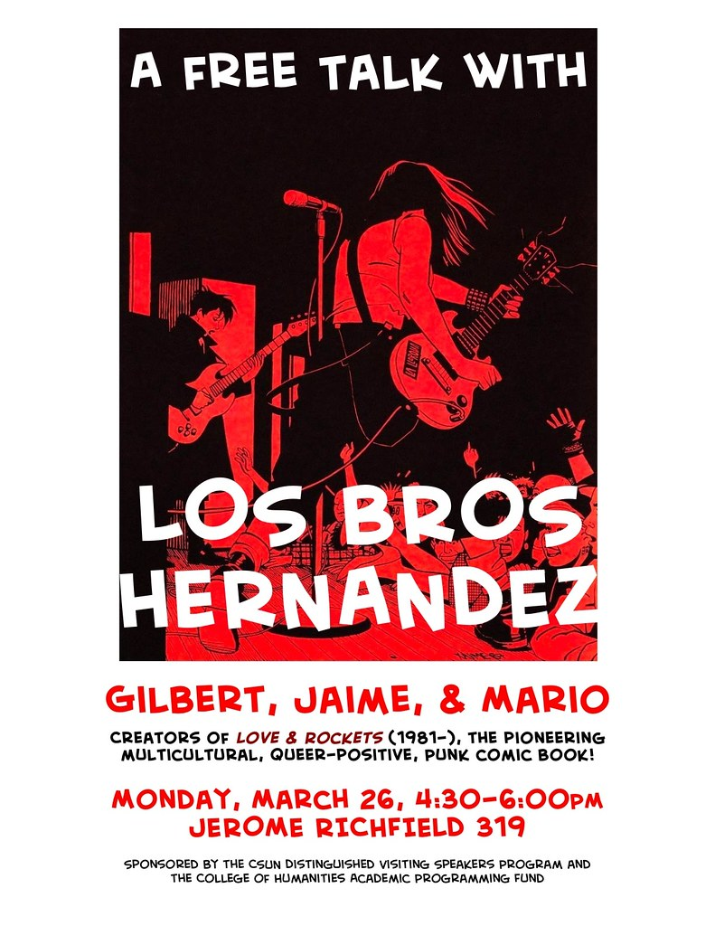 Los Bros Hernandez at CSUN