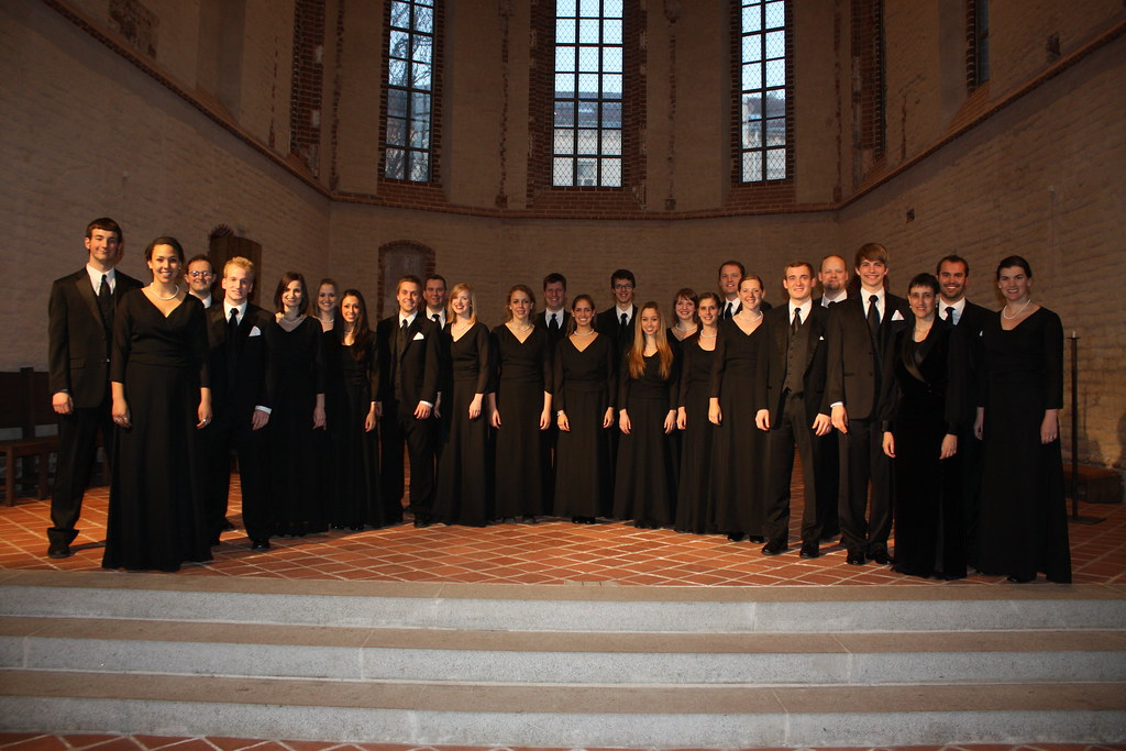 University of Oregon Chamber Choir in the Church of St. John in Tartu, Estonia
