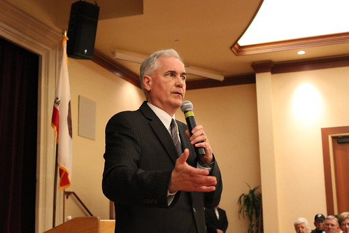 Nose Media coverage of Congressman McClintock in Lincoln, CA
