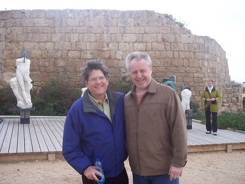 Bob Massie and Tim Thomas, Caesarea