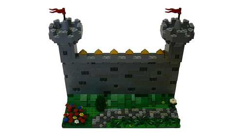 LEGO Castle Wall (1)