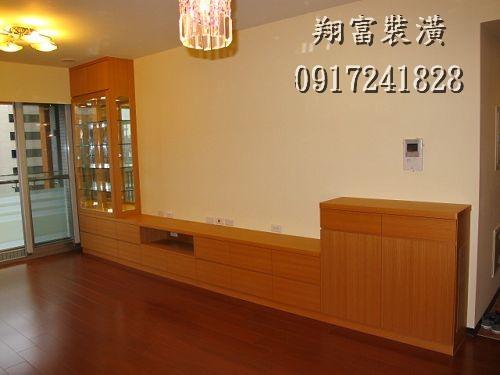 1 客廳電視櫃、展示櫃、鞋櫃