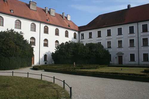 Innenhof Chorstift Herreninsel
