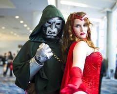 Wondercon 2012 – Dr. Doom & Scarlet Witch