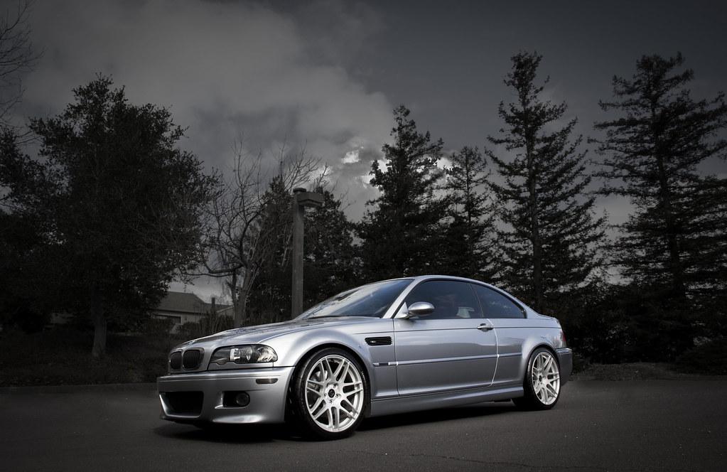 E46 M3 Dark Gray Lowered Wheels Etc
