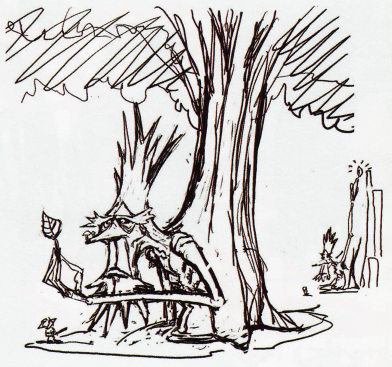 WW The Great Deku Tree
