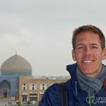 Dan in Esfahan, Iran