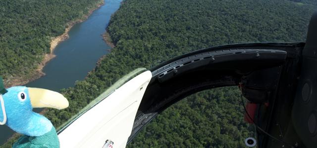 Passeio de Helicóptero pelas Cataratas