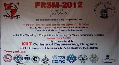 FRSM-2012 poster
