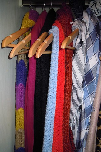 Tips on Organizing Scarves