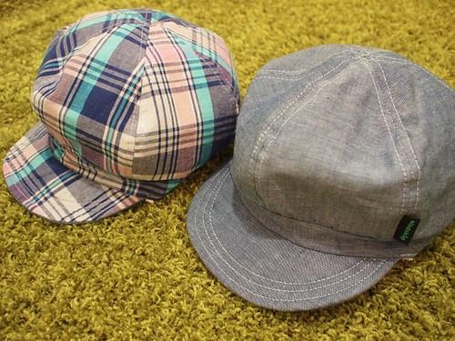 クレード_リバーシブル帽子