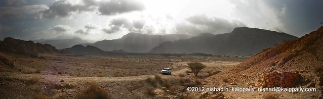 Wadi Bih, Grave yard
