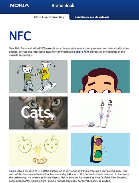 Nokia brandbook blog