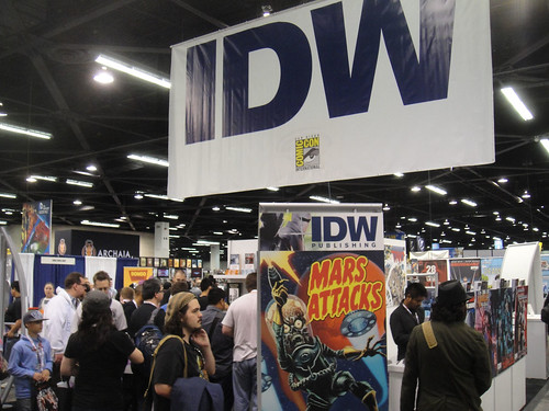 WonderCon 2012 - IDW booth