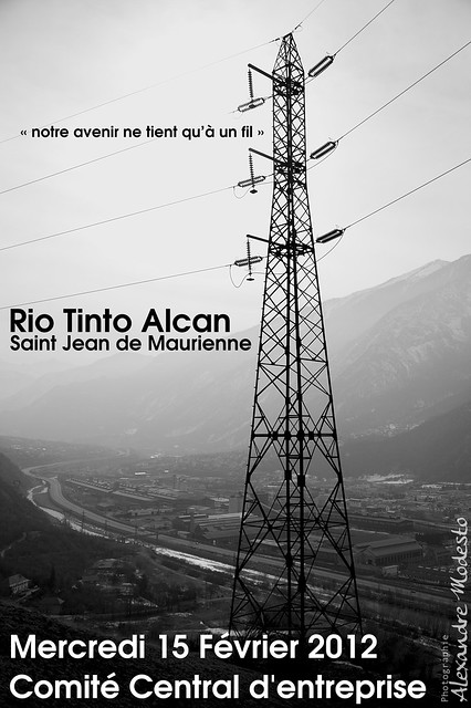 rio tinto alcan saint jean de maurienne comit central d flickr photo sharing. Black Bedroom Furniture Sets. Home Design Ideas