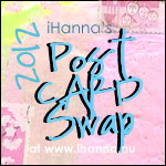 DIY Postcard Swap 2012 with iHanna