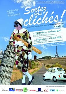 """Vernissage de l'exposition """"Sortez vos clichés"""" par Nomade Culture (Janvier 2012)"""