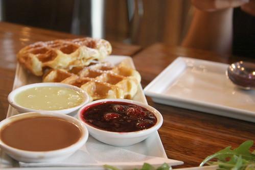 Waffles @ Medina, Vancouver