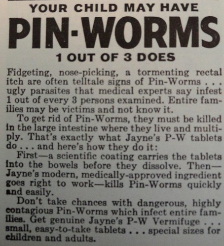 pinworm ad