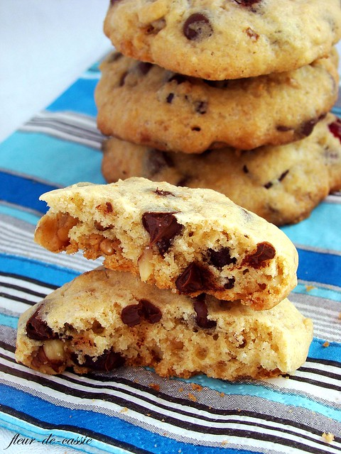 печенье с шоколадными каплями 1