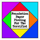 Foundation Paper Piecing For The Terrified Button