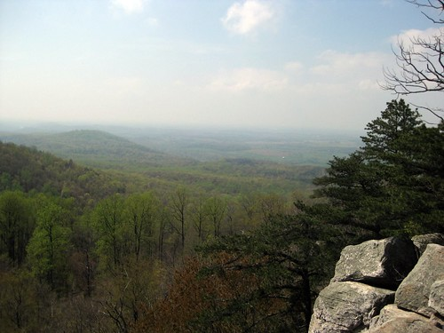 Shenandoah Valley as seen from Raven Rocks in West Virginia
