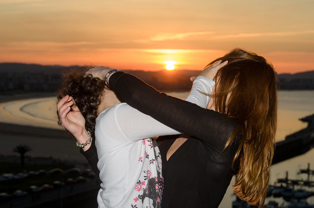 sunset fight