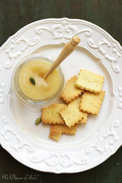Beurre de pommes à la cardamome