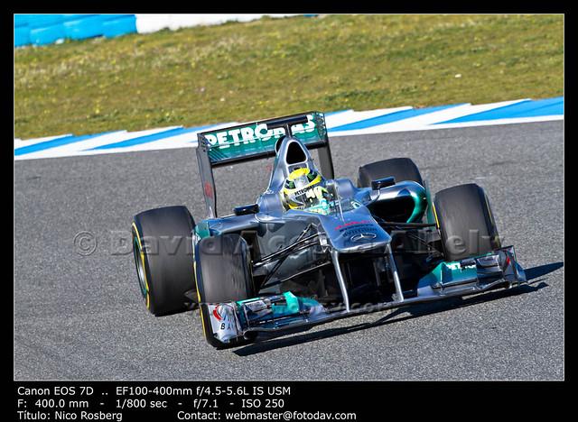 Team Mercedes F1, Nico Rosberg, 2012