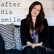 after His smile
