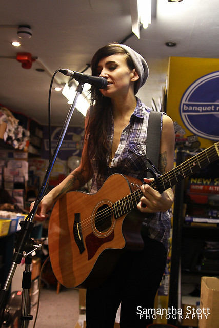 Lights - In-store at Banquet Records