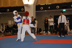 hapkido(0.0), tang soo do(0.0), kickboxing(0.0), karate(0.0), striking combat sports(1.0), individual sports(1.0), contact sport(1.0), taekwondo(1.0), sports(1.0), combat sport(1.0), martial arts(1.0), black belt(1.0),