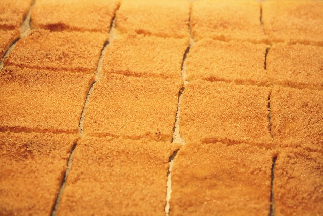 Cinnamon tear apart bread