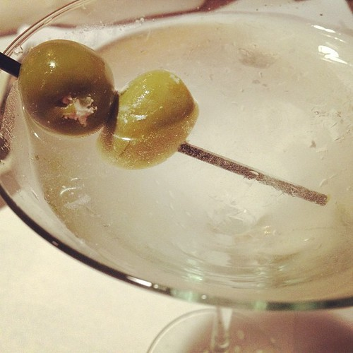 Dirty with a blue cheese olive. Drunk in two sips. #febphotoaday