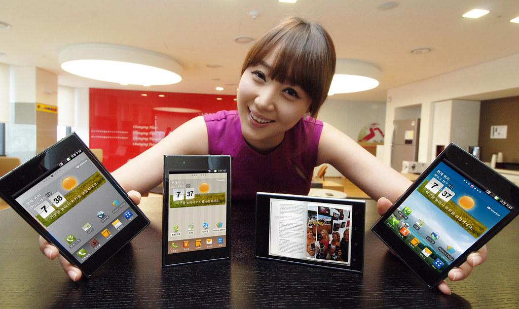 """LG Optimus VU: màn hình 5"""" 4:3, Dual Core 1.5Ghz, LTE, giao diện mới"""
