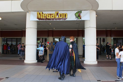 MegaCon 2012 entrance