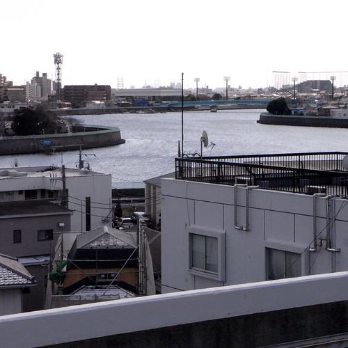 青砥駅から眺める中川01