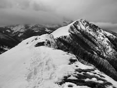 Monte Lo Spicchio (in invernale)