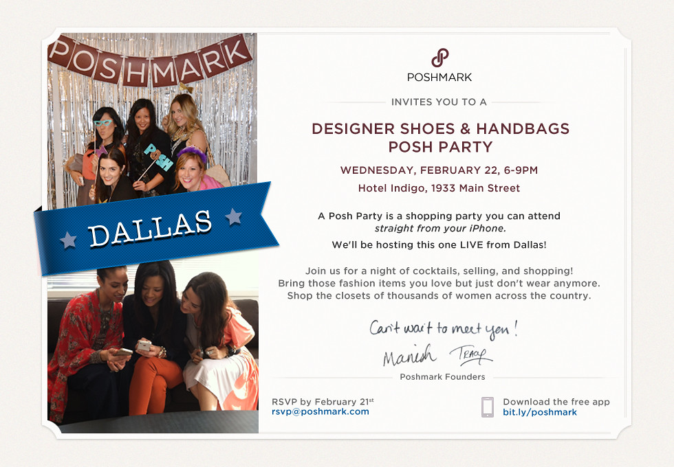 Dallas Poshmark Party