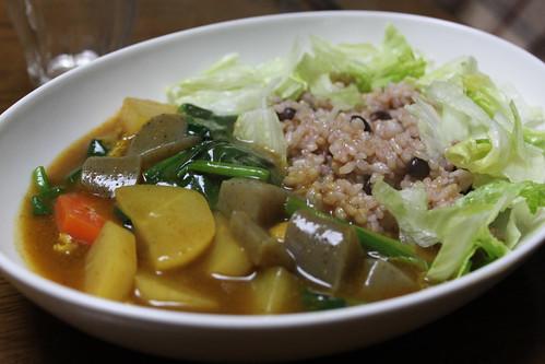 精進カレー牛筋スープ-002