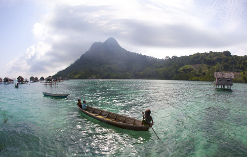 6221 Fishing village--Pulau Bohey Dulang , Sabah , Malaysia