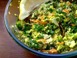 Vegan quinoa tabbouleh - Tabulé de quinoa