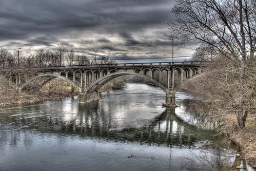 bridge sky reflection water reflections md nikon skies arch hdr highdynamicrange hagerstown rt40 photomatix nikond90