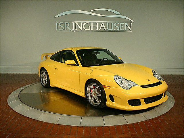 speed yellow 2002 porsche 911 carrera 4s gemballa body kit 18 forgelines 17k miles. Black Bedroom Furniture Sets. Home Design Ideas