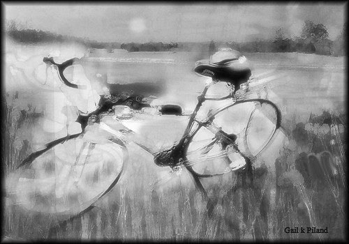 bw bike digital landscape sensational vividimagination kartpostal gailpiland mygearandme