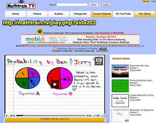 Mathtrain.TV   Probability with Ben and Jerry