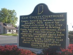 Clay County Courthouse Marker