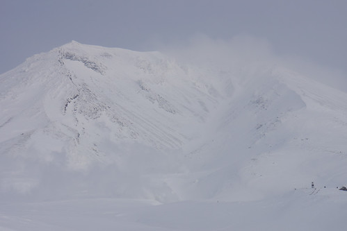 Mt. Asahidake in 20 Centigrade minus
