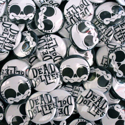 buttons for Dead Dollies