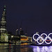 Rings on the river & the Shard - 28Feb12